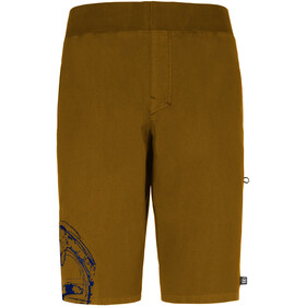 E9 Pentagon Shorts Men mustard